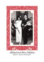 Fortieth Wedding Anniversary Party Invitation